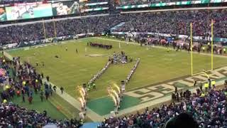 Philadelphia Eagles player introductions, 1/13/2018