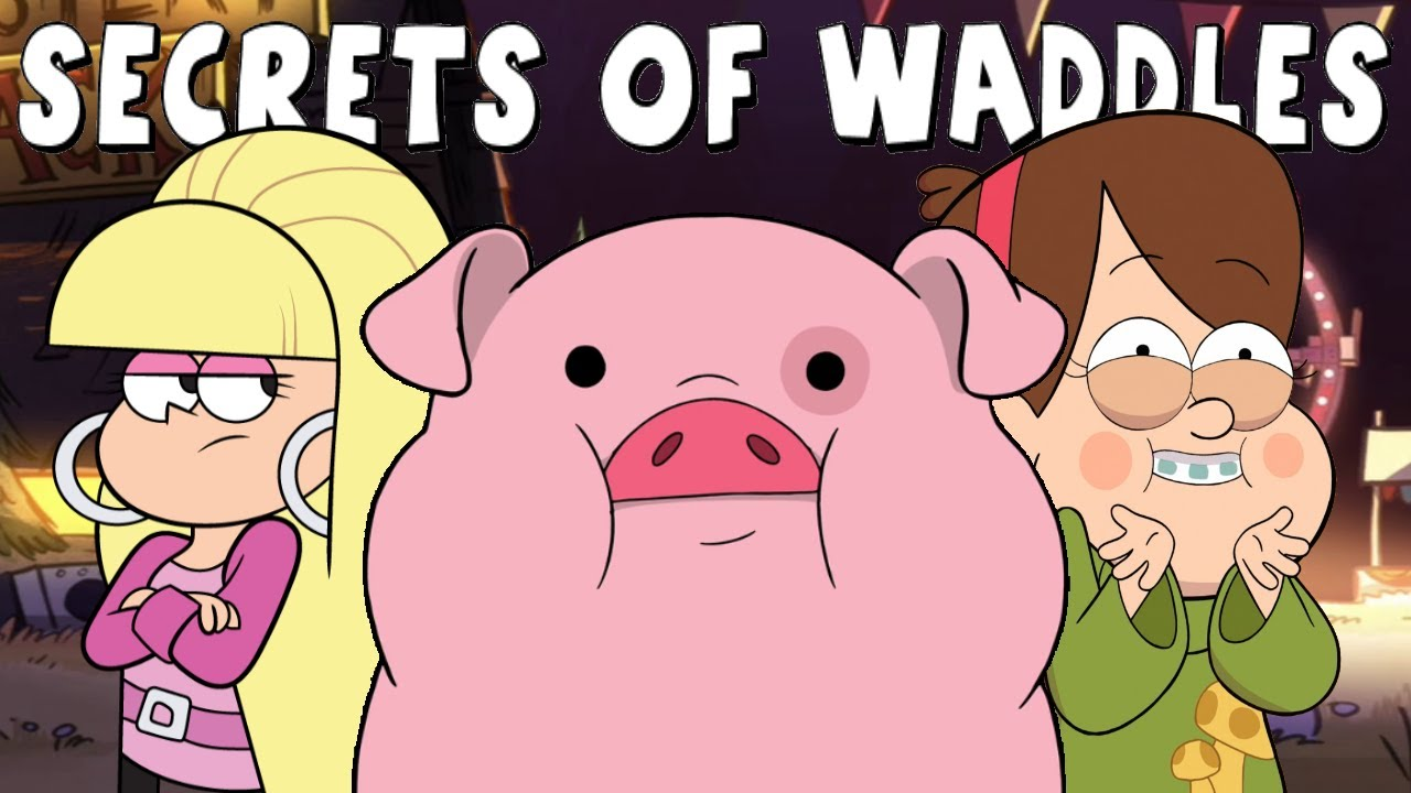 Gravity Falls Secrets Of Waddles