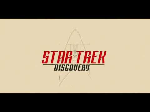 Star Trek Discovery intro with Star Trek 2009 music