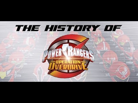 Power Rangers Operation Overdrive, Part 1 - History of Power Rangers