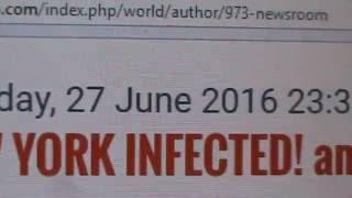 HEADZ UP HEALTH NEWS: NEW YORK INFECTED