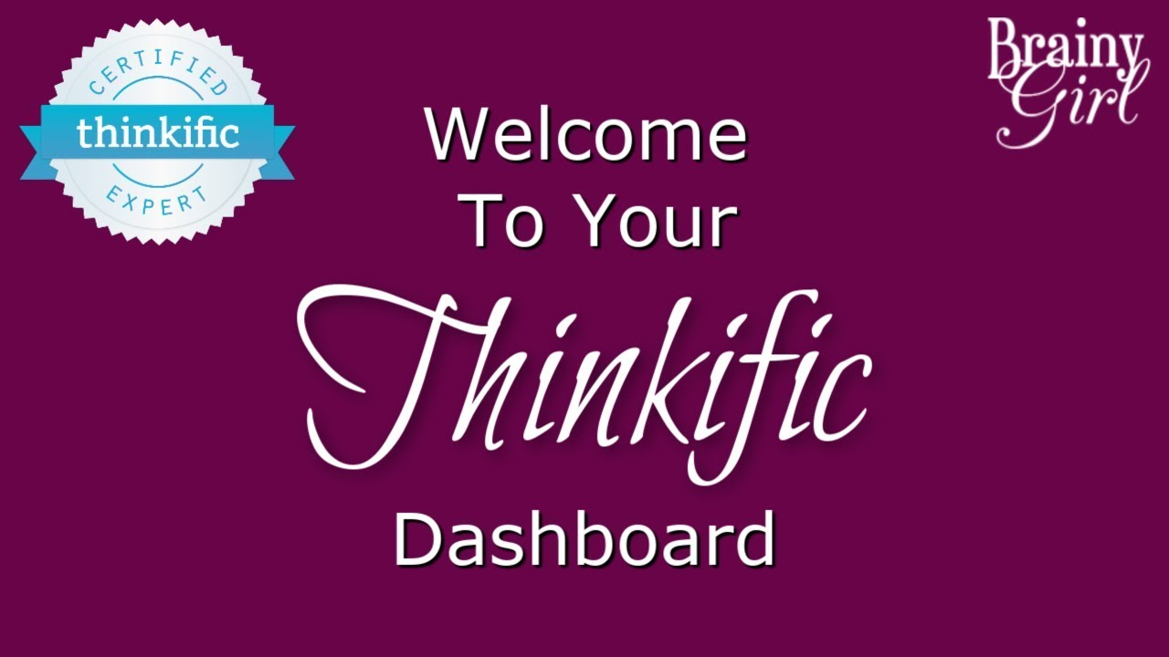 Thinkific Demo - Your Thinkific Dashboard (Walkthrough + Cheatsheet!)