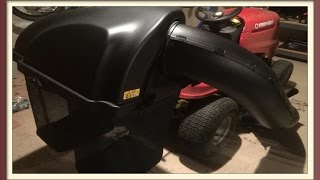 Lawn Mower Bagger Review Twin Bagger for 42 inch Lawn Mower