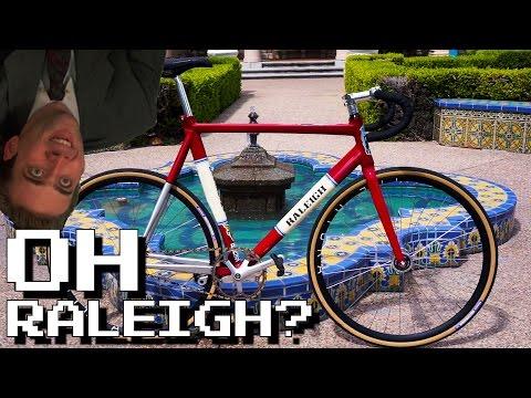 Hippest Of The Hip | Raleigh Macaframa FIxed Gear Bike Check