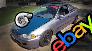 Honda Civic eBay Turbo Install and Test Drives