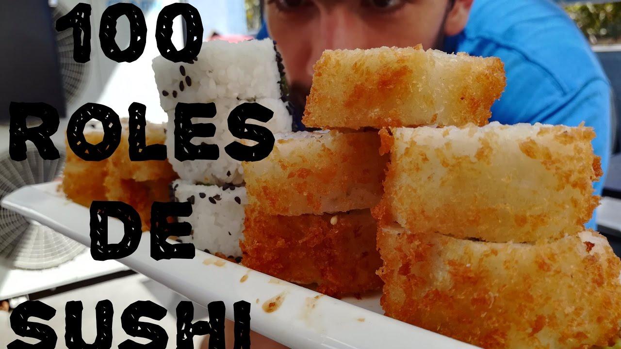 calorias 10 piezas de sushi