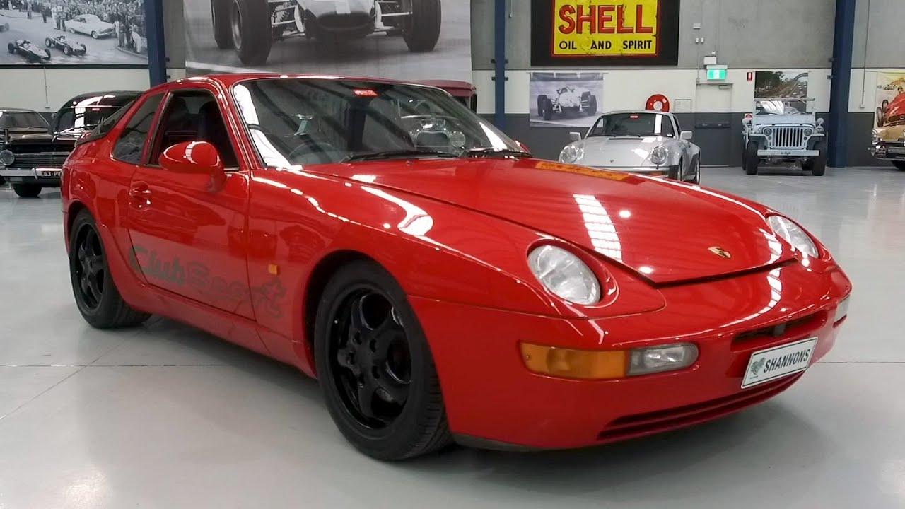 1994 Porsche 968 Club Sport Coupe - 2020 Shannons Winter Timed Online Auction