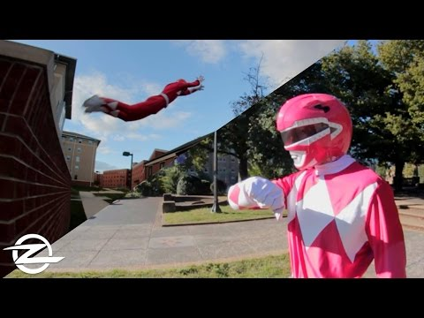 Thumbnail: POWER RANGER PARKOUR in REAL LIFE