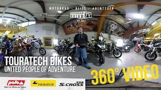 [Testlauf] 360° Video RICOH THETA S – Die Bikes für United People of Adventure von Touratech