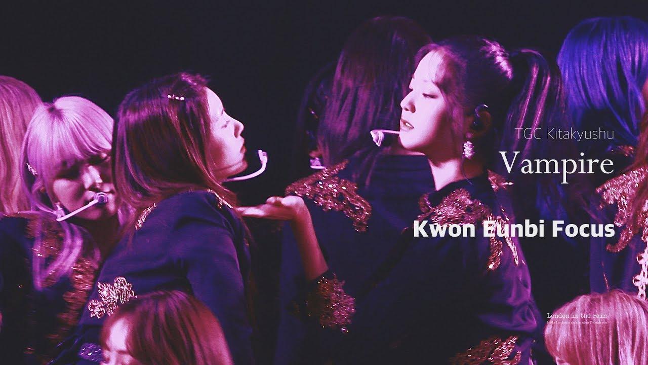 [4K] 191005 TGC KITAKYUSHU Vampire 직캠_아이즈원 권은비 IZ*ONE Kwon Eunbi Focus