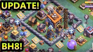 BUILDER HALL 8 | NEW UPDATE | CLASH OF CLANS