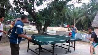 Latihan Spin Tenis Meja