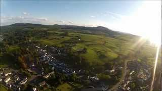 New Galloway - Dumfries & Galloway - Scotland - From the air.  RC FPV Graupner Elektro Rookie