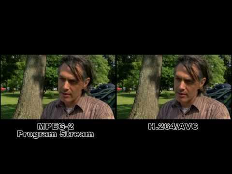 WMC Bitcentral MPEG-2/H.264 Comparison