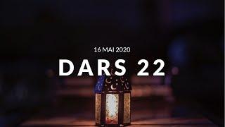Jour 22 DARS RAMADAN - 16 Mai 2020 - Comment se concentrer lors de la Salat partie 4