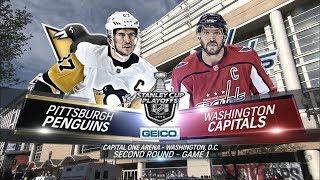 Вашингтон – Питтсбург (27.04.18) Плей-офф, 1/4 финала, Игра 1, Обзор матча...