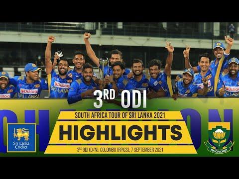 Download Sri Lanka seal series   3rd ODI Highlights   Sri Lanka vs South Africa 2021