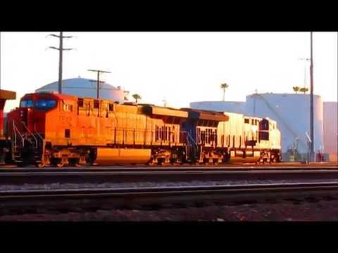 Lots of Trains in LA, Commerce, and El Monte 2/13-14/16