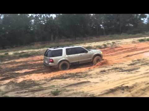2002 Ford Explorer lifted off road