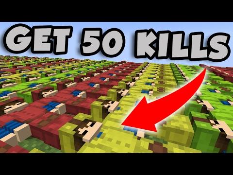 50 KILLS CHALLENGE | MINECRAFT BED WARS
