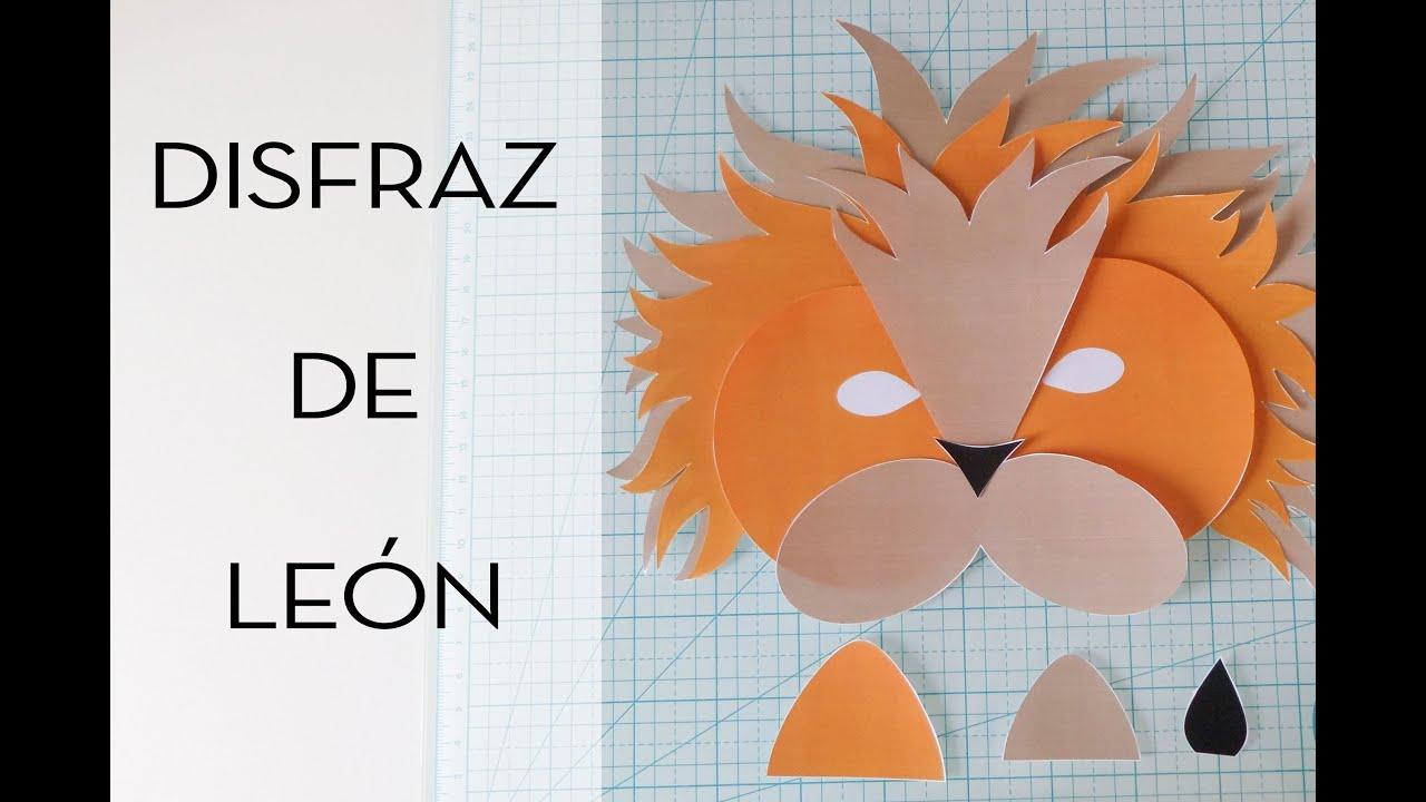 Como Hacer Un Disfraz De Leon Con Plantilla Para Descargar Con P - Disfraz-casero-de-leon