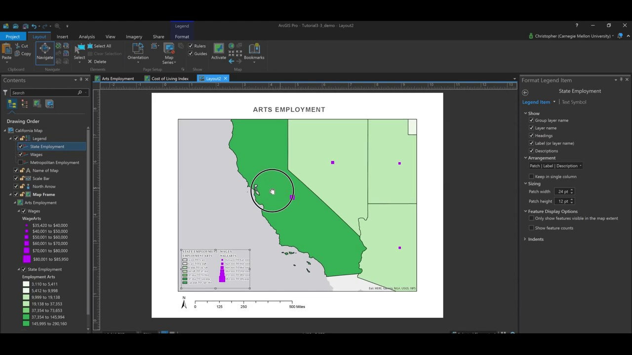 How to create printable maps using layouts in ArcGIS Pro