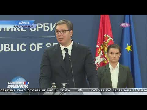 Вучић: Од 1881. године нисмо имали овако значајан споразум са САД VIRTUÁLIS MEGNYITÓ: Amerika nem húzza-vonja a Szerbiával kötött megállapodások végrehajtását, mint az Európai Unió VIRTUÁLIS MEGNYITÓ: Amerika nem húzza-vonja a Szerbiával kötött megállapodások végrehajtását, mint az Európai Unió hqdefault