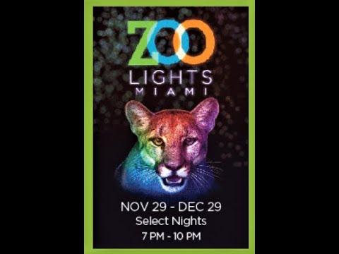 Lights In The Zoo, Miami FL