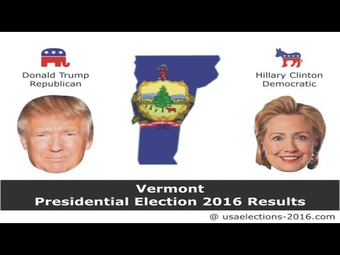 Vermont Presidential Election 2016 Results LIVE Updates