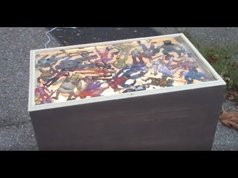 Action Figure Resin Table Tour