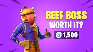 Is *NEW* BEEF BOSS Skin Worth it? Fortnite Battle Royale Daily Items Update