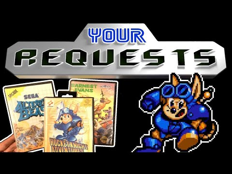 Your Requests! Rocket Knight, Altered Beast, Earnest Evans - James & Mike Mondays