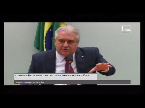 PL 1292/95 - LICITAÇÕES - Reunião Deliberativa - 16/05/2018 - 15:43