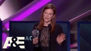 Julianne Moore Wins Best Actress - 2015 Critics' Choice Movie Awards | A&E