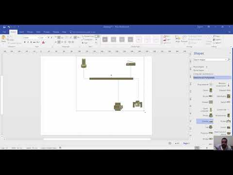 Creating Network And Rack Diagrams With Microsoft Visio