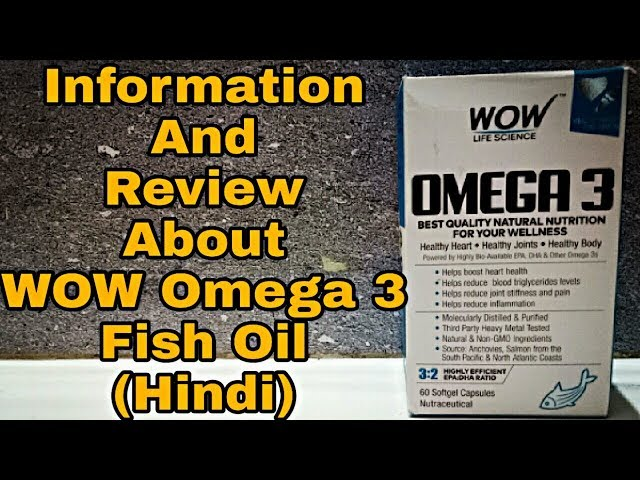 Information and Review Wow Omega 3 Fish Oil In Hindi