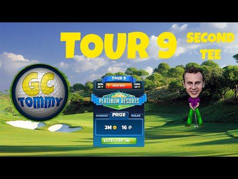 Golf Clash tips, Hole 9 - Par 5, Nordic Fjords - Club Oceania, Tour 10 - GUIDE/TUTORIAL