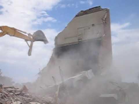 Worland Middle School Demolition #2 - August 2006