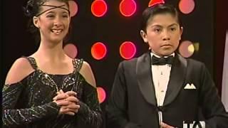 Pequeños Gigantes Ecuador.Samantha Quenedit y Carlos Silva bailan Quick Step.8va Gala.