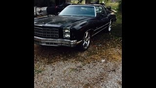 77 chevy monte carlo ( jegs header back exhaust with matching chambered mufflers
