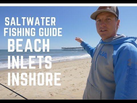 How To Catch Saltwater Fish From Shore, Beach, Inshore With No Boat!