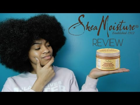 Shea Moisture JBCO Strengthen, Grow, & Restore Treatment Masque Review