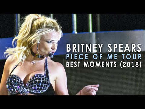 Britney Spears - Piece Of Me Tour Best Moments 2018 Compilation