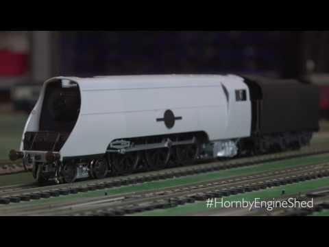 Hornby | The Engine Shed Merchant Navy 1st Running Sample