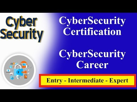 Cyber Security Certification - Cyber Security Career | Entry - Intermediate - Expert