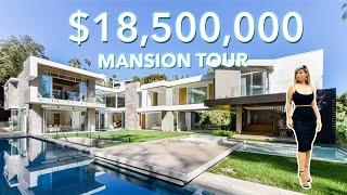 CHARMING $18,500,000 MANSION TOUR   Sunset Strip