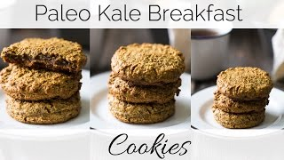 Paleo Kale Breakfast Cookies