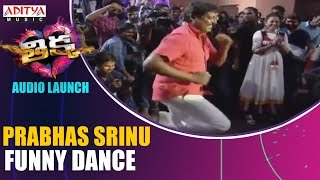 Download Hindi Video Songs - Prabhas Srinu Funny Dance@Thikka Audio Launch || Sai Dharam Tej, Larissa Bonesi, Mannara || S.Thaman