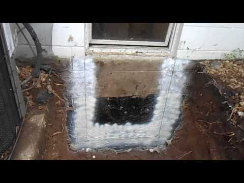 Egress Window installation video 2