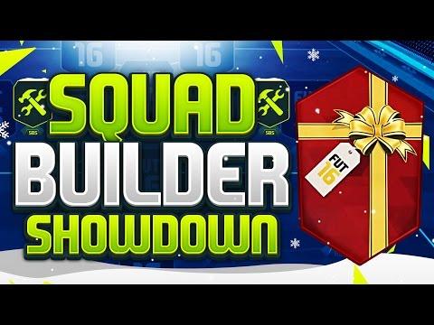 FIFA 16 SQUAD BUILDER SHOWDOWN!!! 100K PACK SPECIAL!!! Christmas 100k Pack Special Squad Builder